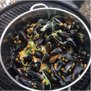 Belgiska musslor